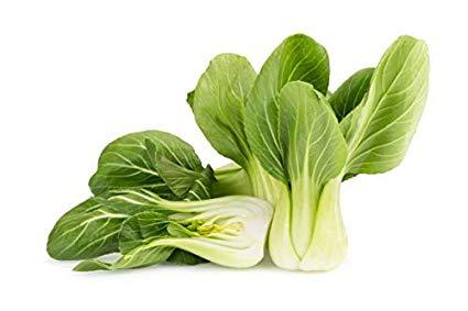 verduras asiáticas pak choi