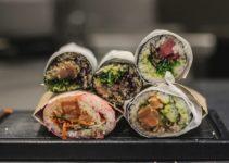 Sushi burritos de Cevichevere