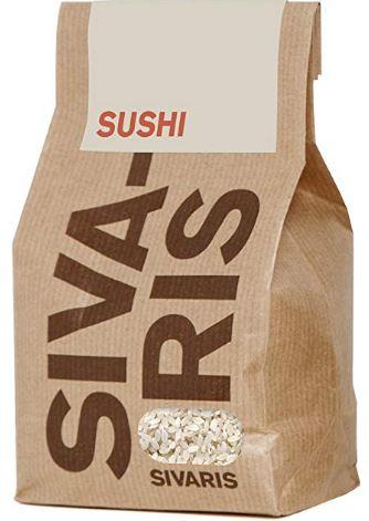 Regalar arroz para hacer sushi