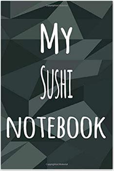 Regalar libro de notas para sushi