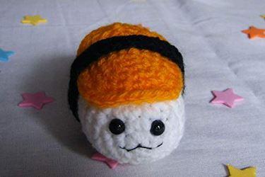 Regalar llavero sushi