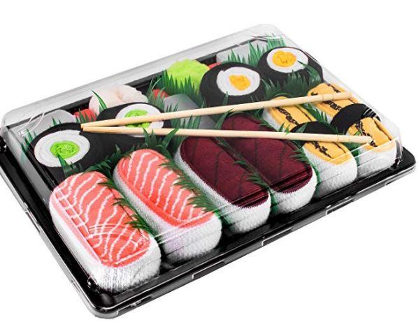 Regalo calcetines sushi