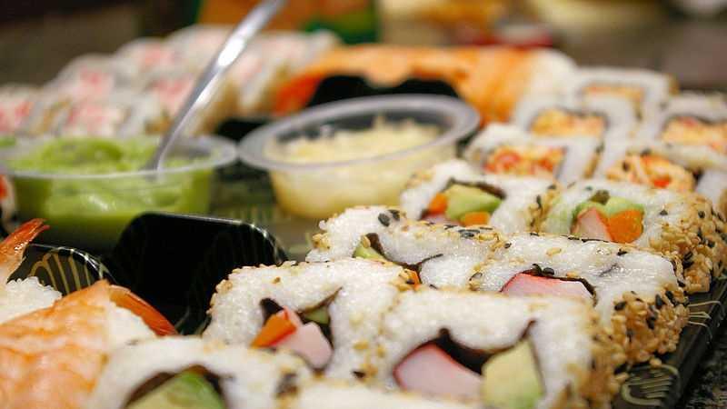 Calorías sushi