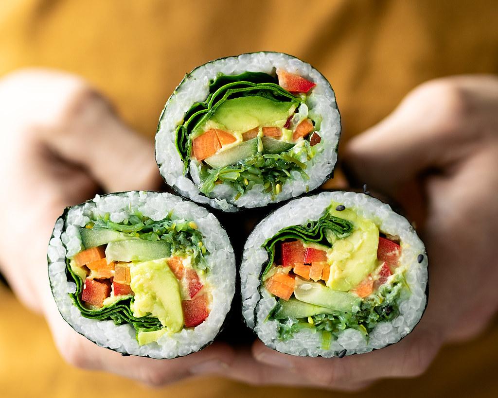 Sushi burrito qué es