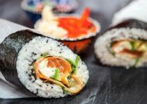 Sushi burrito receta