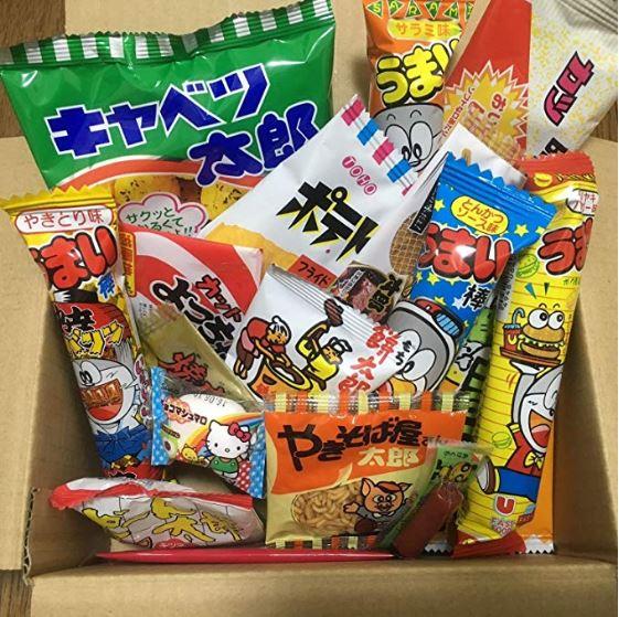 Pack de chuches japonesas