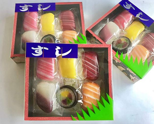 Sushi de chuches made in Japan