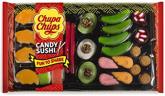 Sushi de golosinas marca Chupa Chups