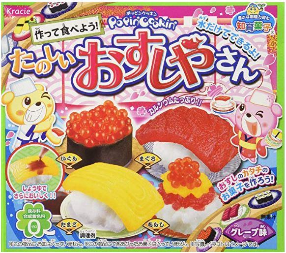 Sushi de golosinas para niños