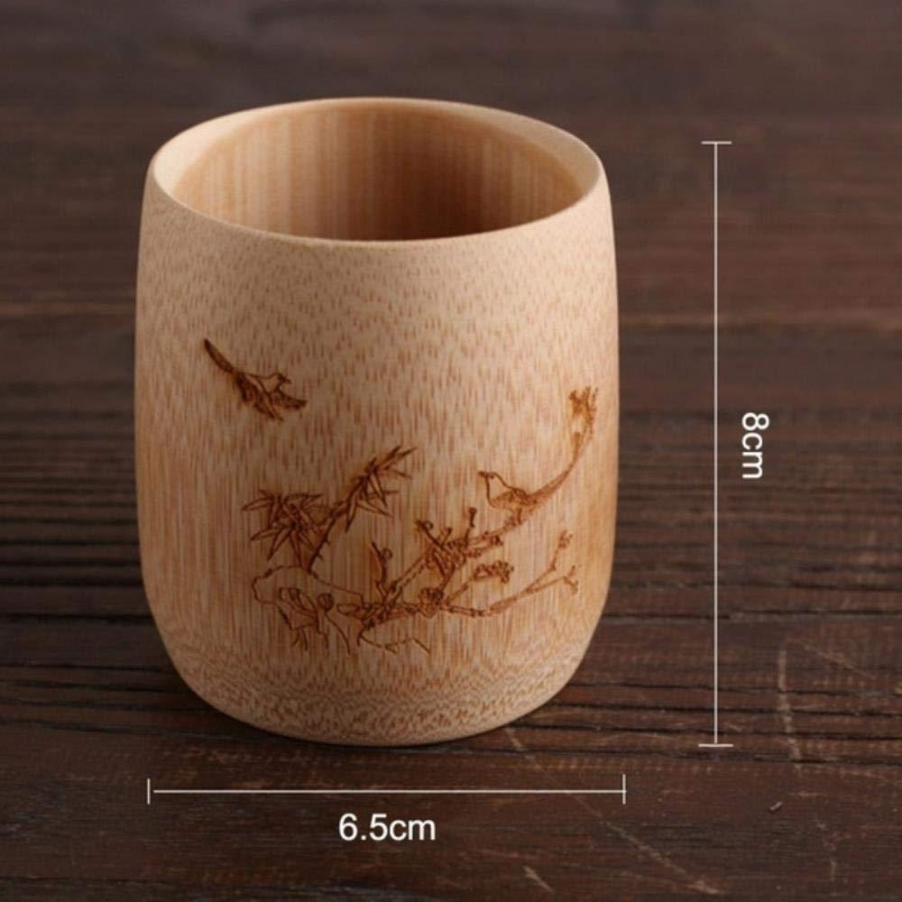 Taza café japonés con dibujo