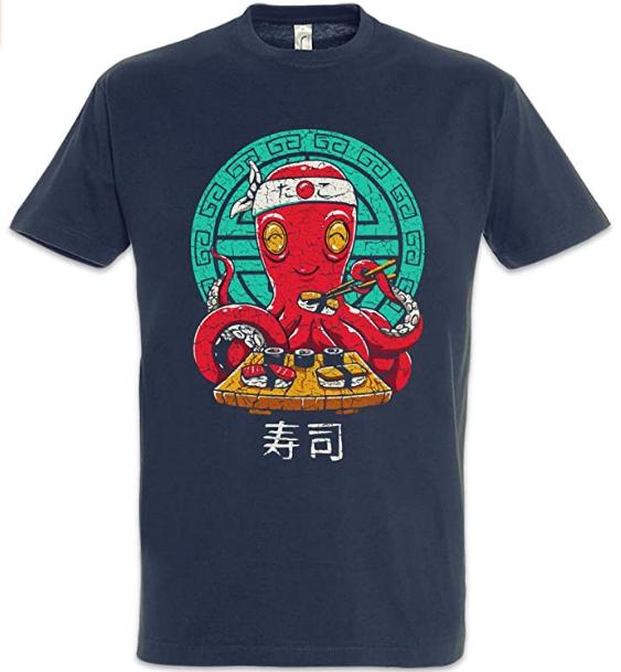 Camiseta sushi oriental