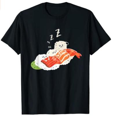 Camiseta sushi siesta