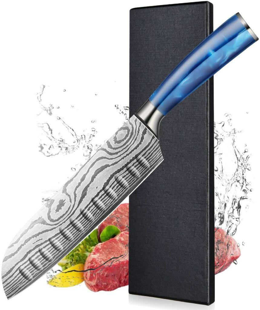 Cuchillo sushi hoja ancha