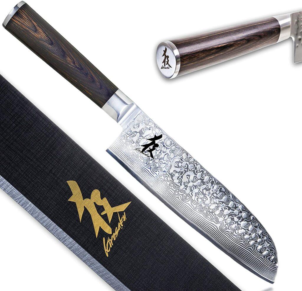 Cuchillo sushi letras japonesas