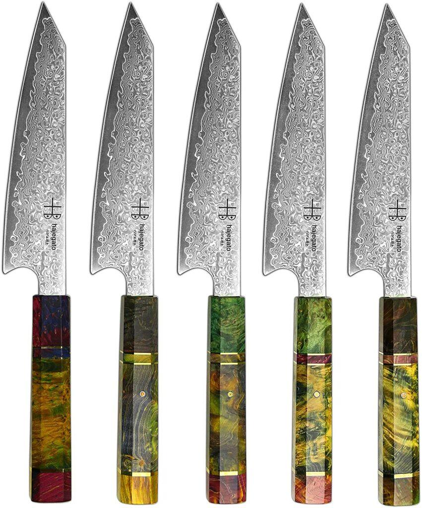Cuchillo sushi mango octogonal