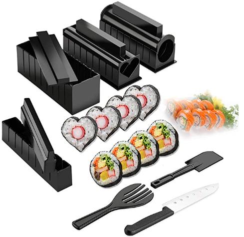 Máquina para hacer sushi en forma de corazón