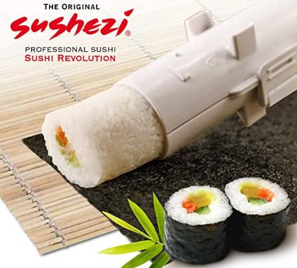 Máquina para prensar sushi